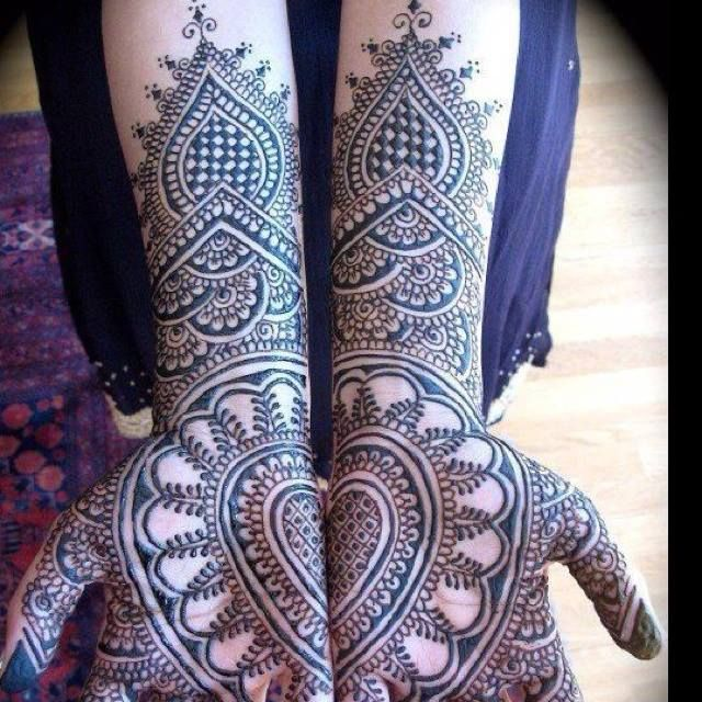Traditional Mehendi