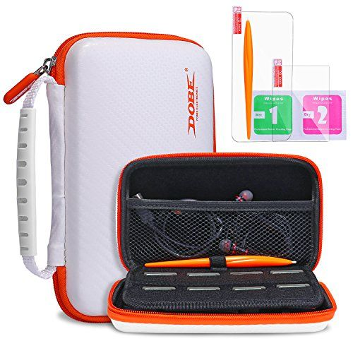 New Nintendo 2DS XL LL Protective Carrying Case KINGTOP Hard Shell Travel Bag for New Nintendo 2DS XL/LL New Nintendo 3DS/XL/LL: <b>Broad Compatibility</b><br><br> This KINGTOP Hard Shell Carrying Case is specially designed for the following Nintendo DS systems:New Nintendo 2DS XL/LL,Nintendo 3DS XL,Nintendo 3DS LL, Nintendo 3DS, New 3DS XL, NEW3DS LL ,New 3DS<br><br> <b>All-round Protection</b><br><br> Besides the shockproof,dustproof and water resistance hard outer shell ,the anti-...