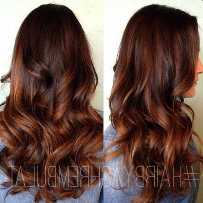 ▷ 1001+ Ideen für rotbraune Haare – strahlen Sie im neuen Look
