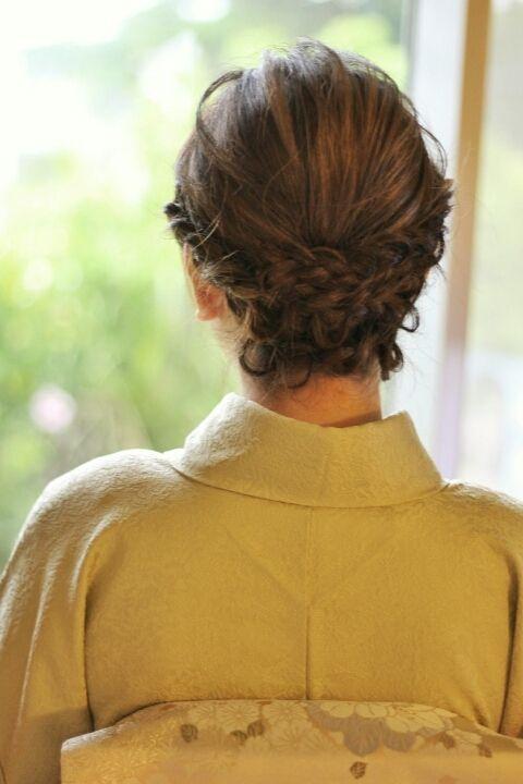 お着物ヘアセット:沖縄で噂の高級ヘアサロンhair make pasdedeux LEQUIOS(レキオ) 北谷美浜店 HAIR style ヘアスタイルブログ