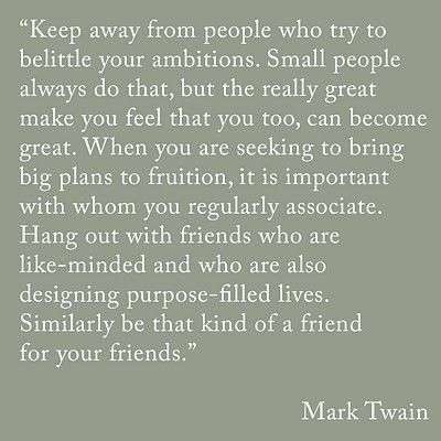 Be around those who are truly part of your life and reciprocate what you do for them... Love ya- Z