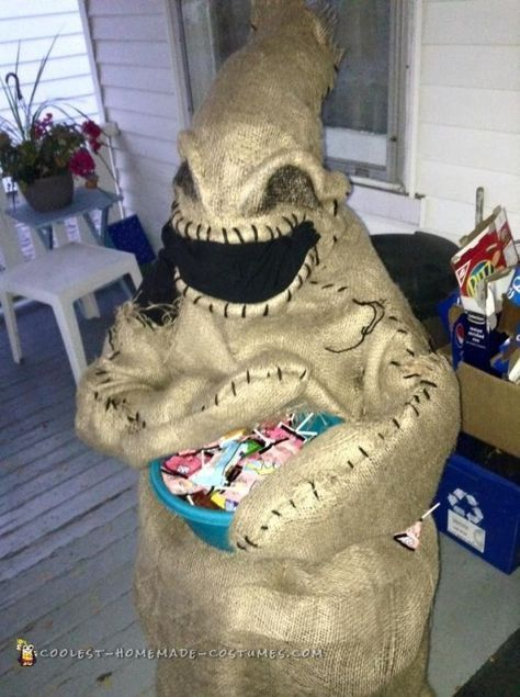 Simple DIY Oogie Boogie Costume for Any Age