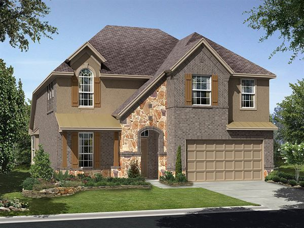 Ryland Homes Payton II E of the Whispering Hollow community in Buda, TX.