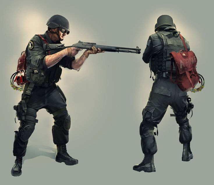 Tom Clancy's Rainbow Six Siege - Thermite Concept