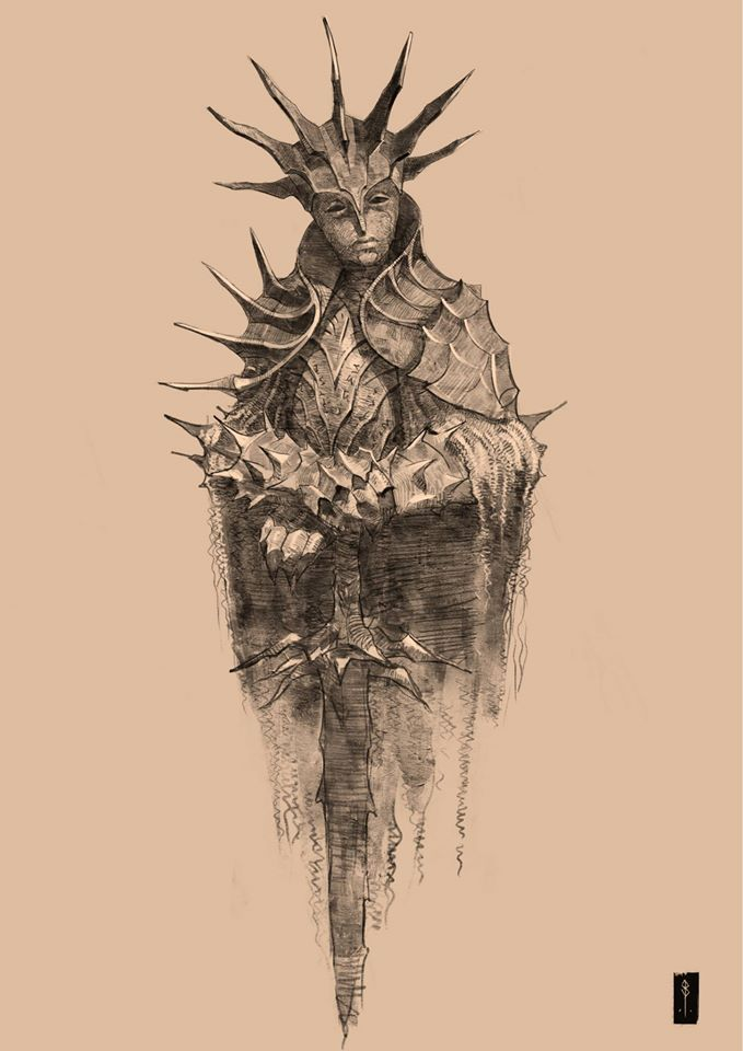 Bruno Biazotto.  Anybody else think this looks like a spiky Statue of Liberty ?