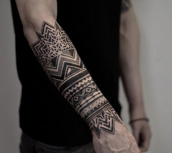 Tribal Half Sleeve Forearm Tattoos Best Tattoo Ideas