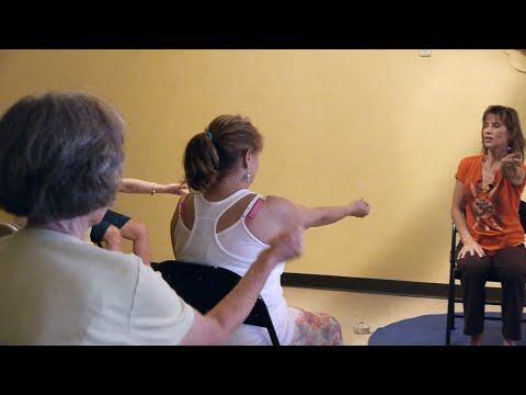(1 Hr) Chair Yoga Class: Banishing Back Pain Naturally with Sherry Zak Morris, E-RYT - YouTube