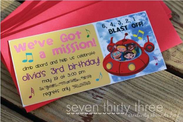 seven thirty three - - - a creative blog: A Little Einsteins Birthday Party.  TONS of printables!