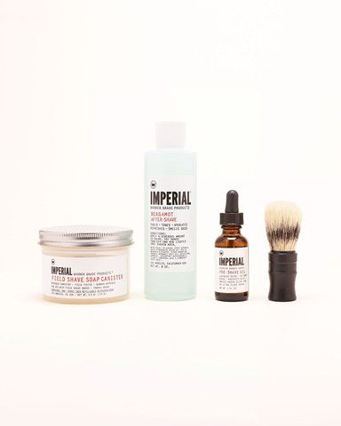 Imperial Barber Products Shave & Grooming Field Kit