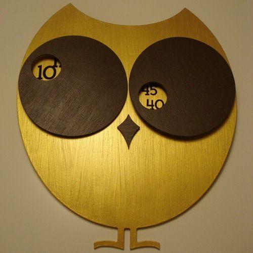 Hoos O'clock: Clockwork Owl, Owl Eye, Eye Rolls, Rolls Wall, Clocks Design, Owl Clocks, Night Owl, Wall Clocks, Visionary Art