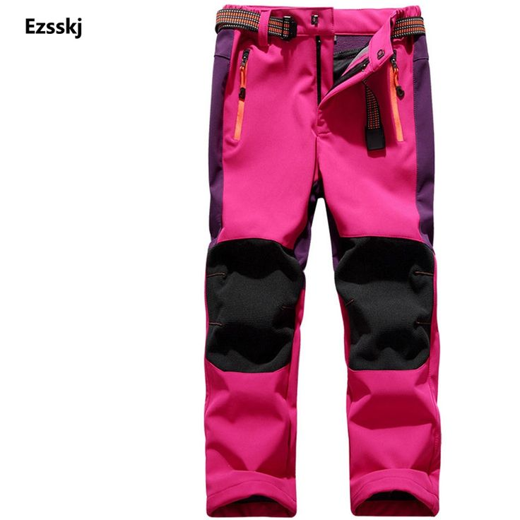 21.99$  Buy now - http://ali4pm.shopchina.info/go.php?t=32758124532 - Outdoor Winter Fleece Warm Snowboard Snow Pants Kids Girls Ski Waterproof Hiking Climbing Trousers 21.99$ #magazineonlinebeautiful