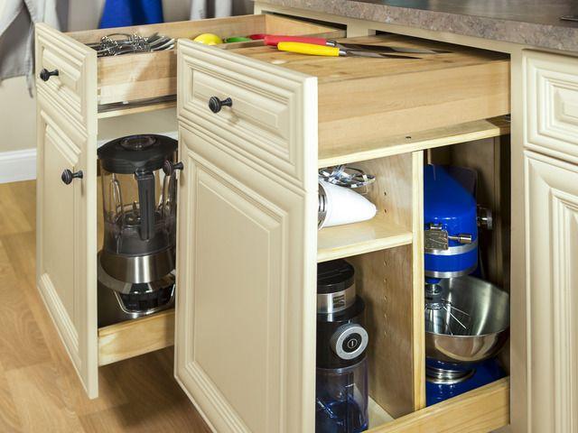 Organize Your Small Kitchen Appliances