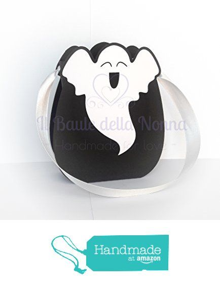 "SCATOLINA BORSETTA HALLOWEEN DOLCETTO SCHERZETTO ""FANTASMA"" (art. 95) da Il Baule della Nonna https://www.amazon.it/dp/B01M4JIUEW/ref=hnd_sw_r_pi_dp_YdFayb1TEH6H1 #handmadeatamazon"
