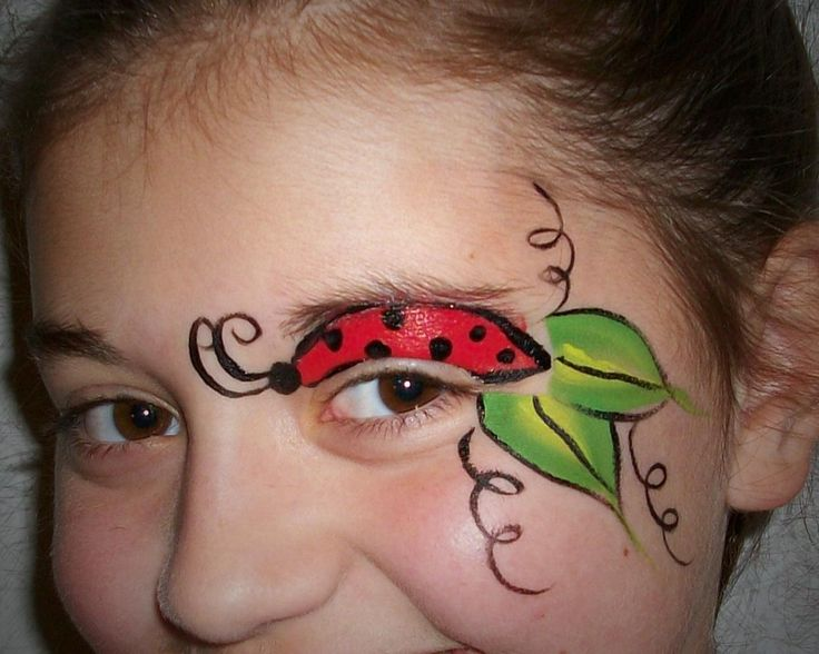 lady bug face paint | Face Painting Fairy (my sister-in-law) | Pinter ...