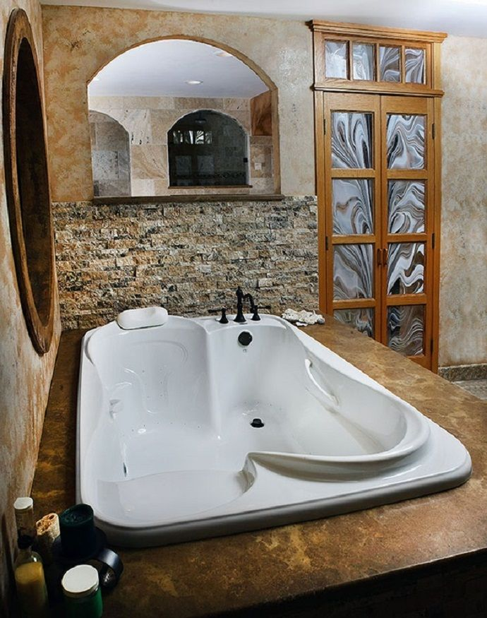 10 Bathtubs That Offer Moments of Relaxation for Both of You - ArchitectureArtDesigns.com