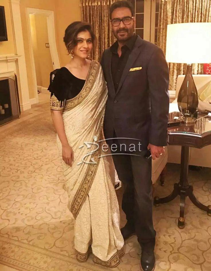 #kajol spotted in #sabyasachisaree #sabyasachi #sabyasachimukherjee #bollywoodsaree #fashionnews #bollywood #kajolsaree #whitesaree #embroiderysaree #ethnicwear #indianfashion