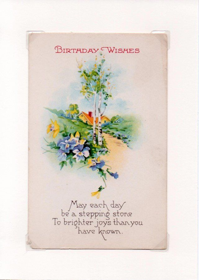 15 best vintage greeting cards good wishes happy birthday images on country lane vintage birthday wishes greeting card m4hsunfo