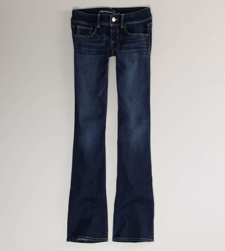 So super soft and comfy - American Eagle Slim Boot Cut Jeans