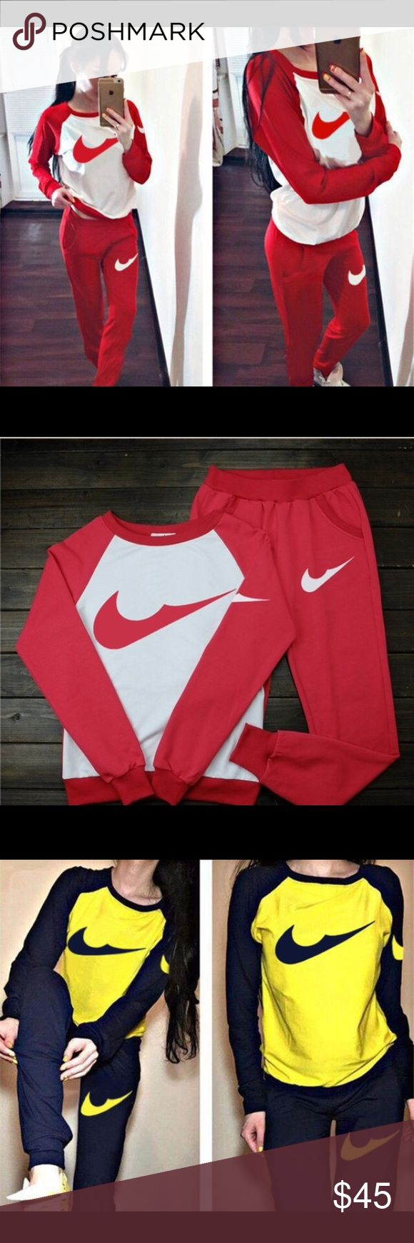 Nike Jogging Suits For Women Brand New Fits Great Hmu For Sizes Other