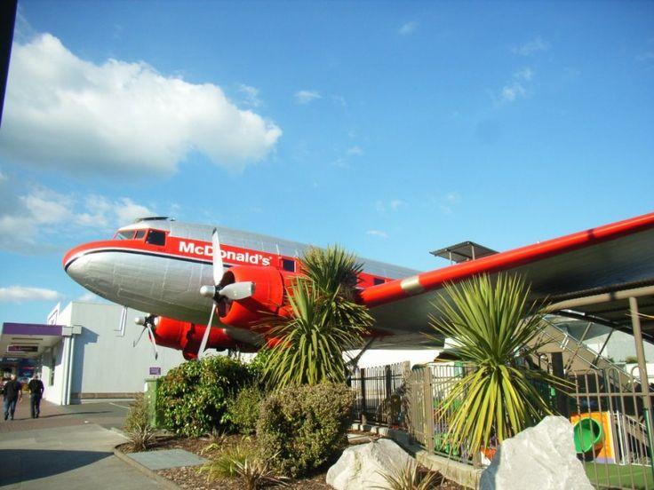 Airplane McDonald's – Taupo, New Zealand