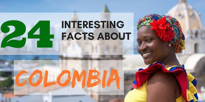 Do you want to learn more about Colombia before deciding if you should buy your flight ticket?Find out 24 interesting facts about Colombia that will convince you to take the plunge. Colombia is a country with different rich landscapes and a paradise for the wildlife lovers.