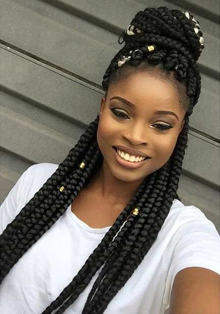 51 Hot Poetic Justice Braids Styles  StayGlam Hairstyles  Poetic justice braids Braids Box