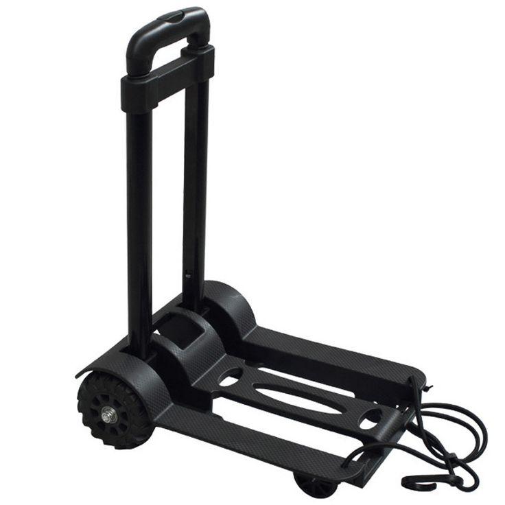 Mini portátil de aço do rolamento de carrinhos de compras folding carrinho de bagagem de 2 KG em Carrinhos de Compras de Indústria e Ciência no AliExpress.com | Alibaba Group