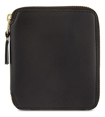 COMME DES GARÇONS Zip-Around Leather Wallet. #commedesgarçons #bags #leather #wallet #accessory