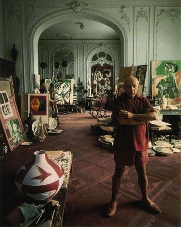 Pablo Picasso, artista.