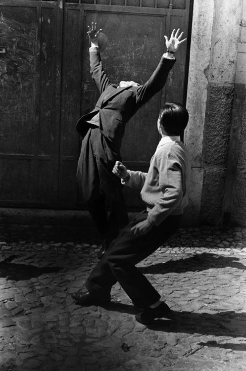 gerard castello lopes, lisboa, 1957. This picture is used for the cover of a paperback edition of Pessoa's Book of Disquiet.