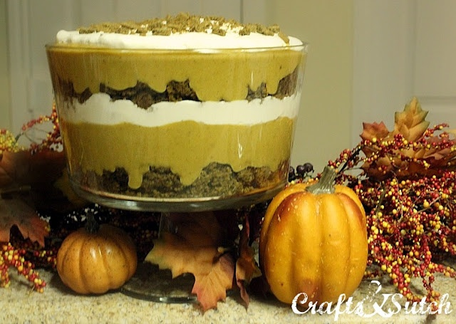 Gingerbread and pumpkin trifle | Recipes | Pinterest