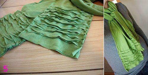 Идеи для шарфов, которые можно сшить: Группа Мода и стиль