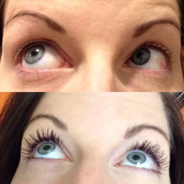 Before and after Top -no mascara Bottom - One coat of younique 3D fibre mascara  Contact me today to order