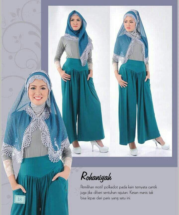 Hijab Rajut ROHANIYAH