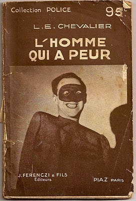 French noir book jacket, 1930s.