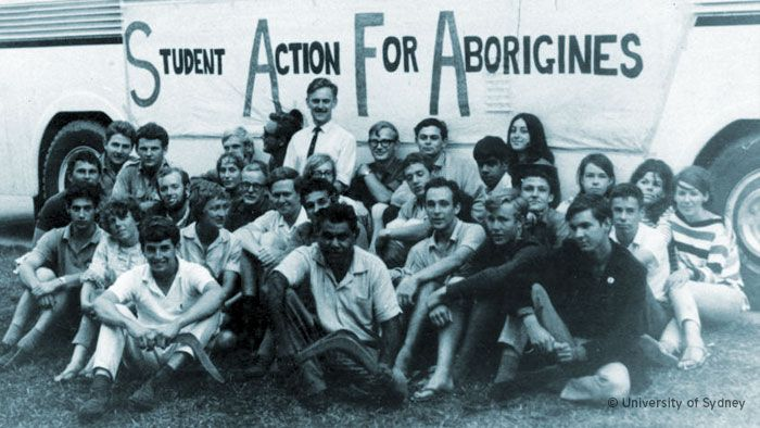 Freedom Ride (NSW 1965) and it stood up for Aboriginal people at a time when they weren't given the same rights as other Australians.