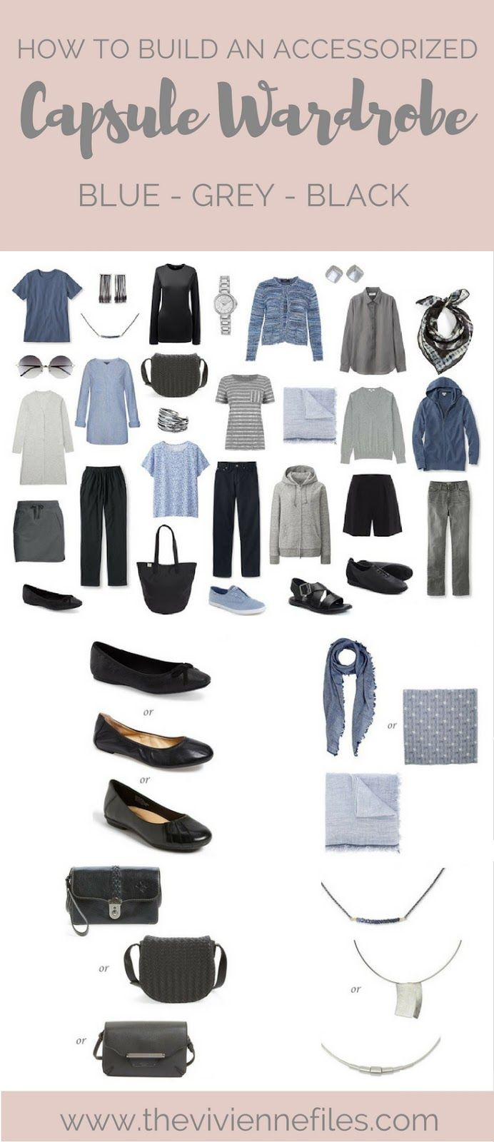 how to build a capsule work wardrobe