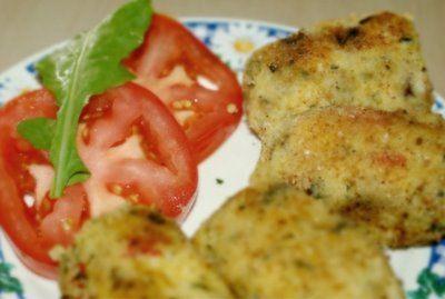 Croquetas de polenta y verdura