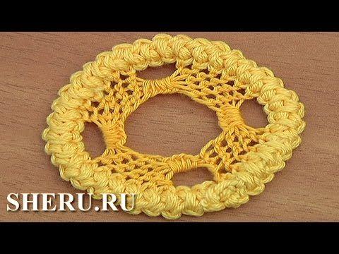 Румынские кружева Урок 85 Круглый элемент