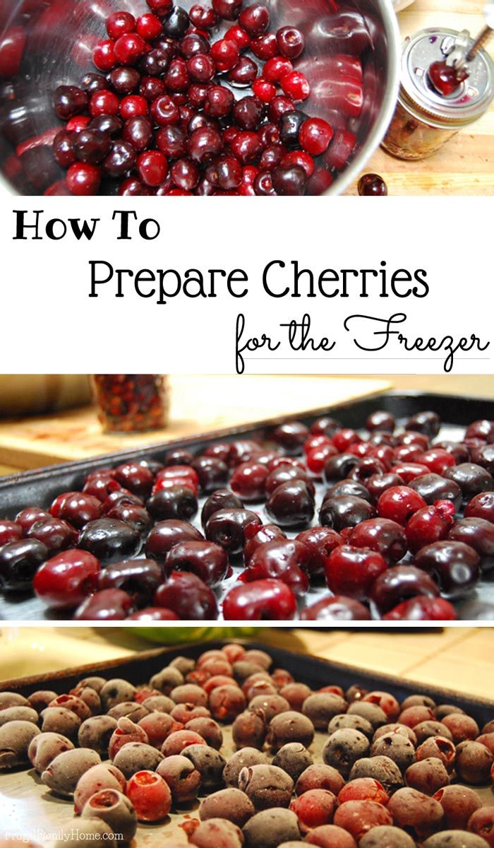 When I get a good deal on cherries but we can't eat them all. I'll prepare the cherries for the freezer. Then I can use them in smoothies or bake with them any time of year. Come learn how to preserve cherries.