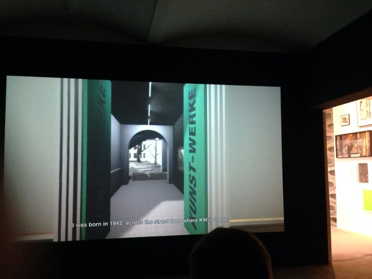 virtual piece of the museum and the street it's on with narration from the curator