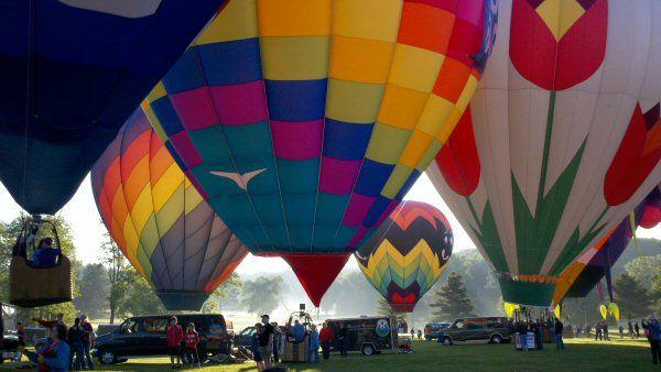 Maryland Preakness Celebration Balloon Festival at Turf Valley Howard County Maryland