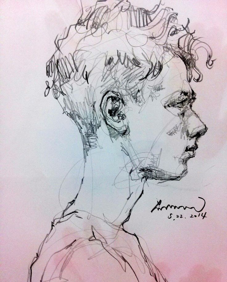 Drawing by Saera — 10Minutes daily work 2014522. Drawing by...