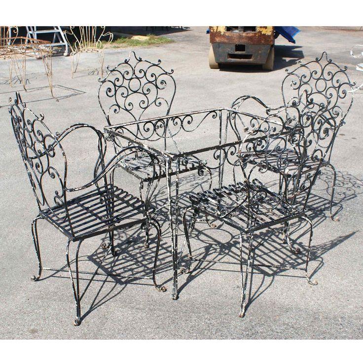 Best 10 Iron Patio Furniture Ideas On Pinterest Mosaic