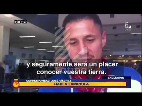 BP12: Gianluca Lapadula responde al interés de la Selección Peruana - YouTube