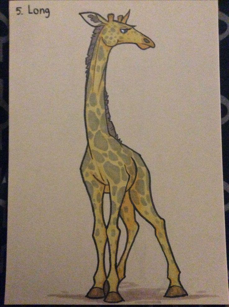 #inktober #inktober2017 #long #giraffe