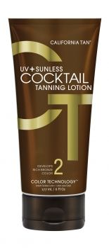 UV + Sunless Cocktail Tanning Lotion