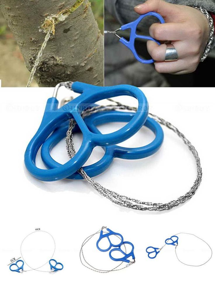 [Visit to Buy] Stainless Steel Ring Wire Hiking Camping Hunting Adventure Scroll String Saws Outdoor Survival Necessary Tool #Advertisement