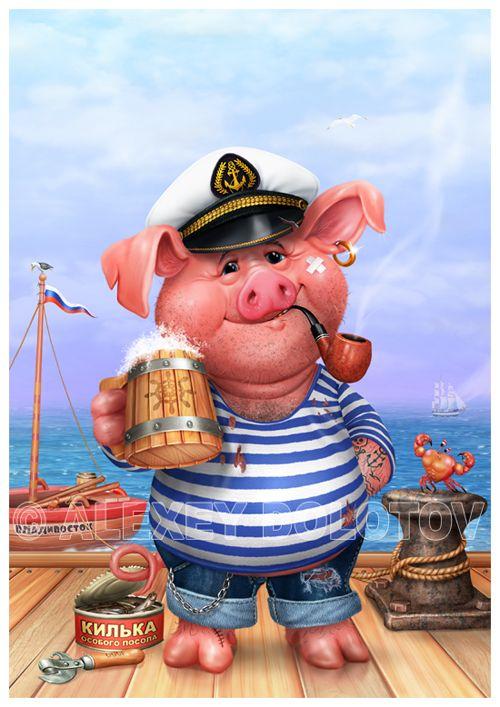 Картинка моряка прикольная, картинки