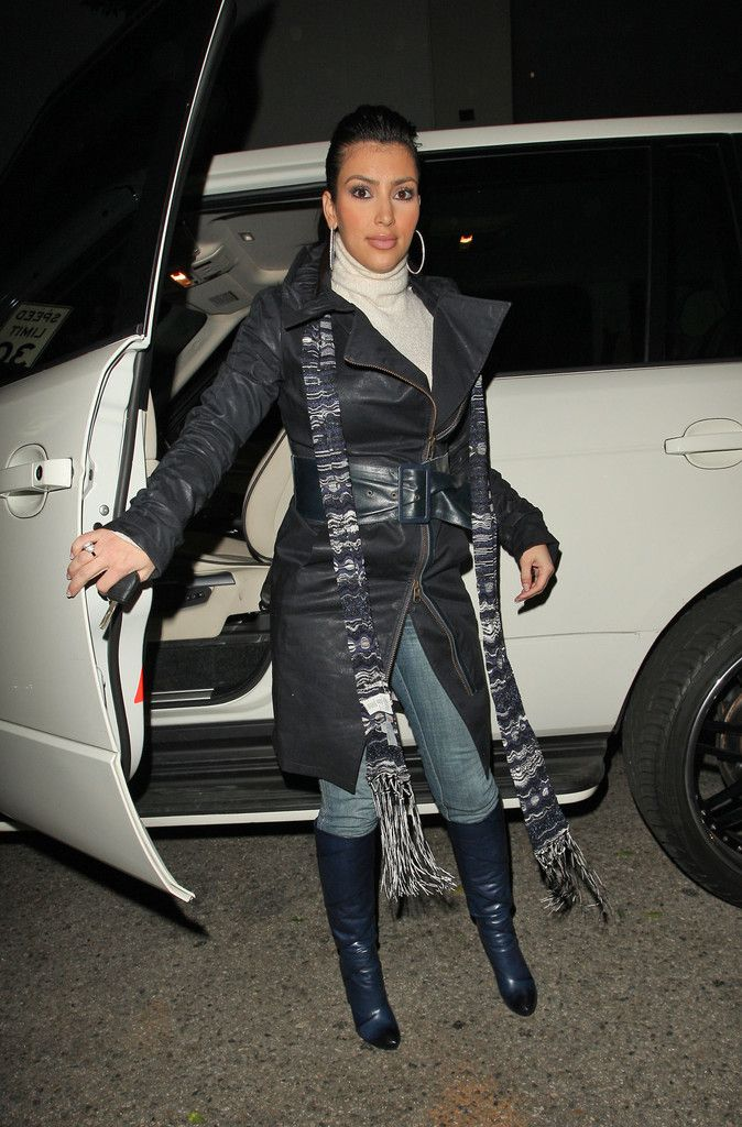 Kim Kardashian Photo - Kim Kardashian and Brittny Gastineau Leave Mr. Chow